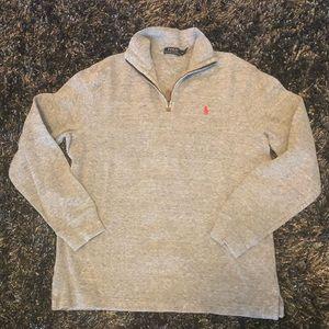 Polo By Ralph Lauren 1/4 Zip Pullover Size Medium
